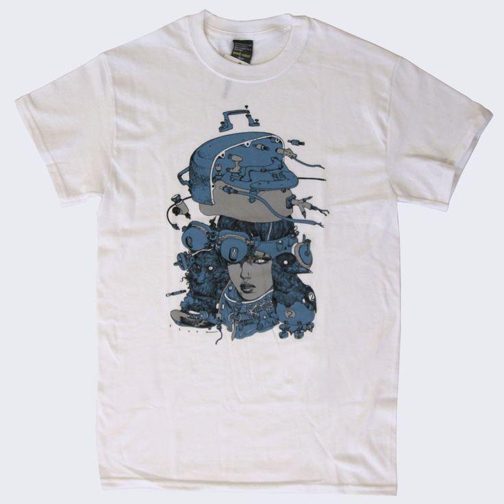 Katsuya Terada x Giant Robot - Hot Pot Girls II T-shirt (White)