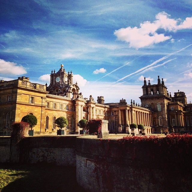 OXFORD, UK: BLENHEIM PALACE. A stand out stately home near Oxford and birthplace of Winston Churchill. This place has seen a lot of happenings throughout it's history but is now open to the public to share in it's huge gardens and magnificent house. Perfect for a historic day out or for a summer picnic in the grounds.
