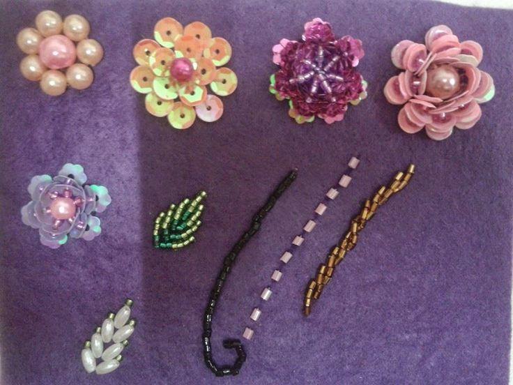 BAsic Crumble, jentayu & bracelet Basic patch lace ruffles 3d bunga 3d (peyote)