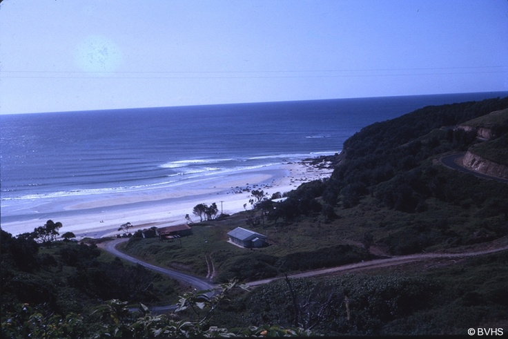 Wategos Beach from the Lighthouse Circa 1964