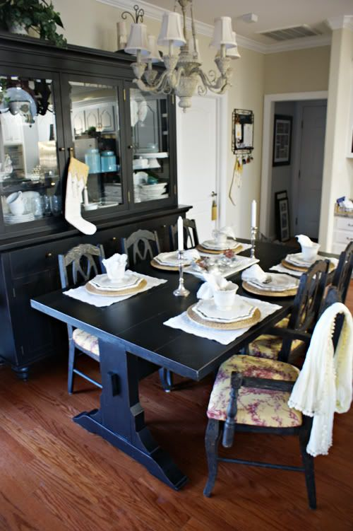 Going Gray Table And Chairs Paint Colors And Chalk Paint Colors