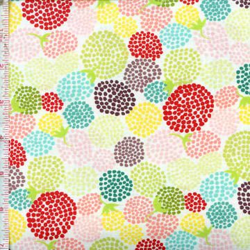 Chantilly by Lauren and Jessi Jung for Moda ~ Big and bold florals in bright colors! Follow this pin to the Fabric Shack to see the entire collection!