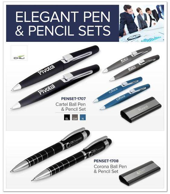 Cartel Ballpoint & Pencil Set