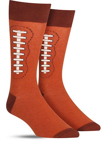 There is no better way to appear stylish at kickoff than rocking these cool football socks. If you revel in every pass, own every article of clothing possible for your local team, and live for game hi