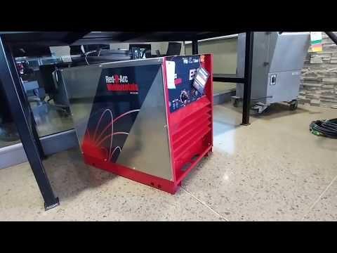 Red-D-Arc E500 Used Welder - YouTube