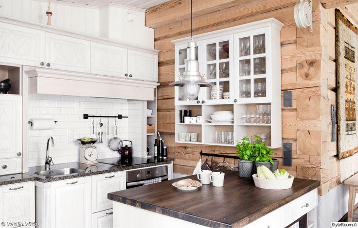 keittiö,romanttinen,hirsi