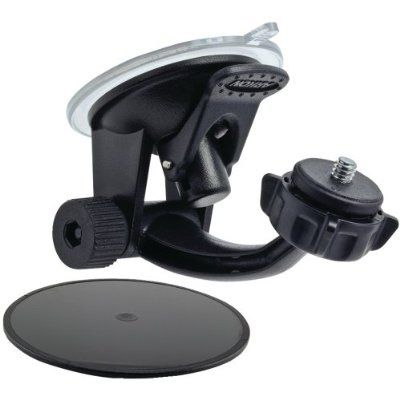 Arkon Windshield or Dashboard Camera Suction Mount for Sony Action Cam JVC ADIXXION and 1/4 20 Compatible Digital Cameras - For Sale