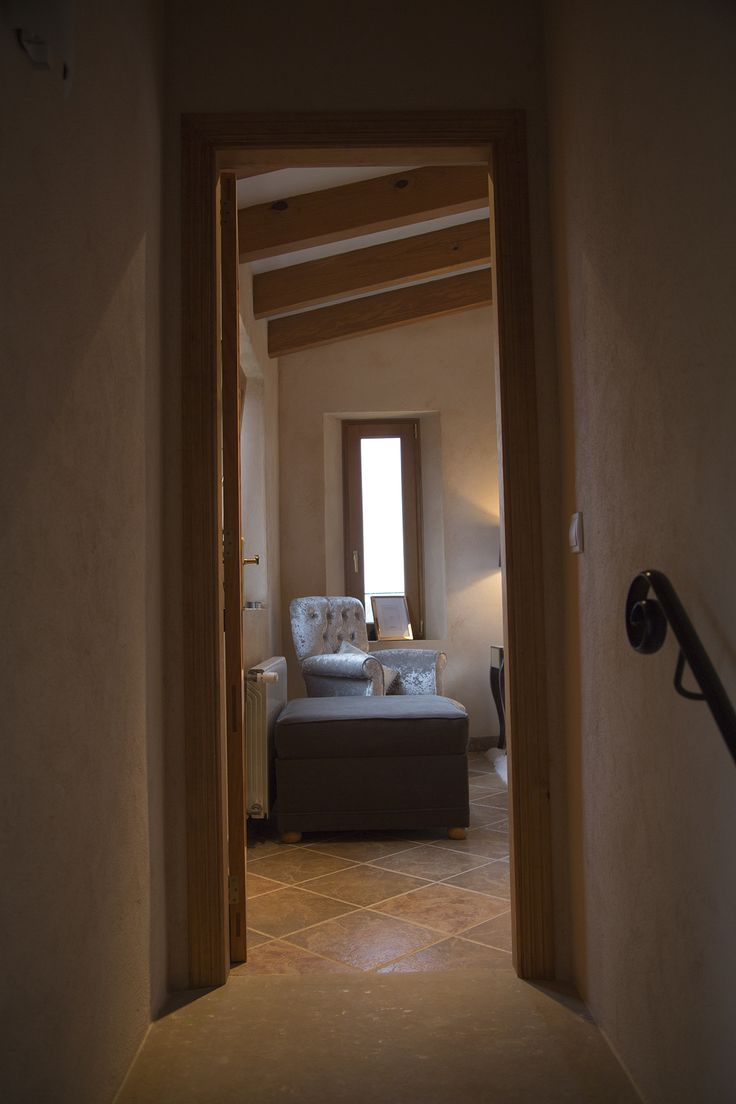 The Master Bedroom Suite Is Located Privately On The First