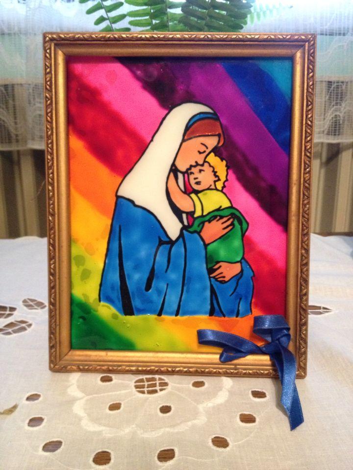 Mária és a kisded