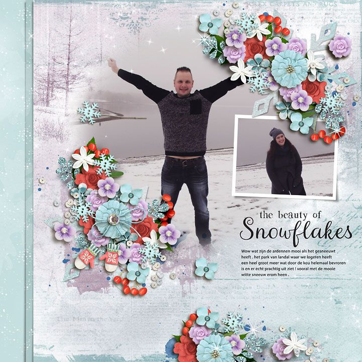 GingerScraps :: Kits :: Snow Excited Page Kit