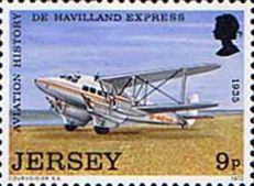 Jersey 1973 Jersey Aviation History SG 92 Fine Mint Scott 84 Other Aviation Shatmps HERE