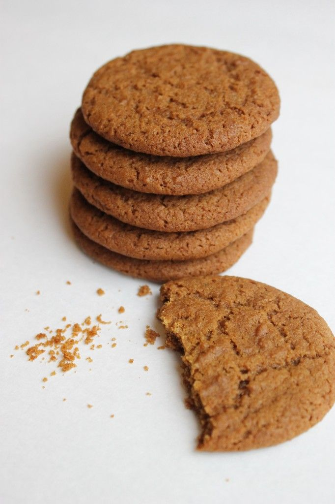 gingersnap cookies | Fooderific | Pinterest