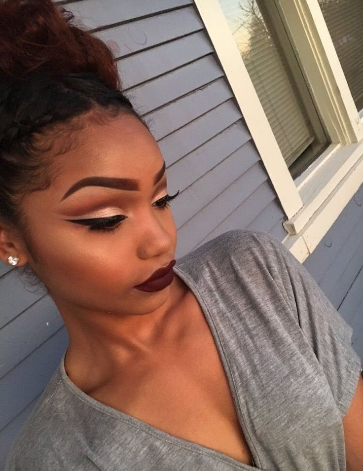 25+ Best Ideas About Black Girl Makeup On Pinterest | Black Makeup Makeup Tips And Tricks And ...