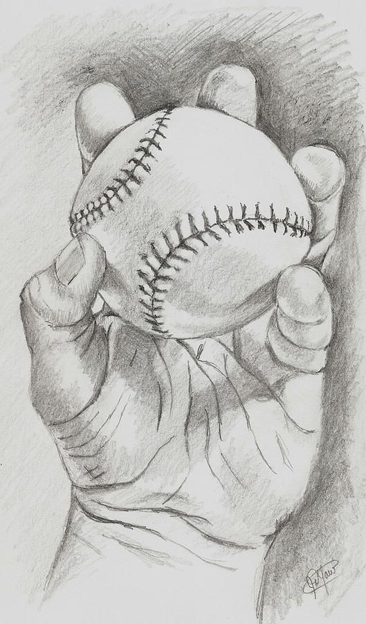 sportyviews.com Baseball Pencil Drawing