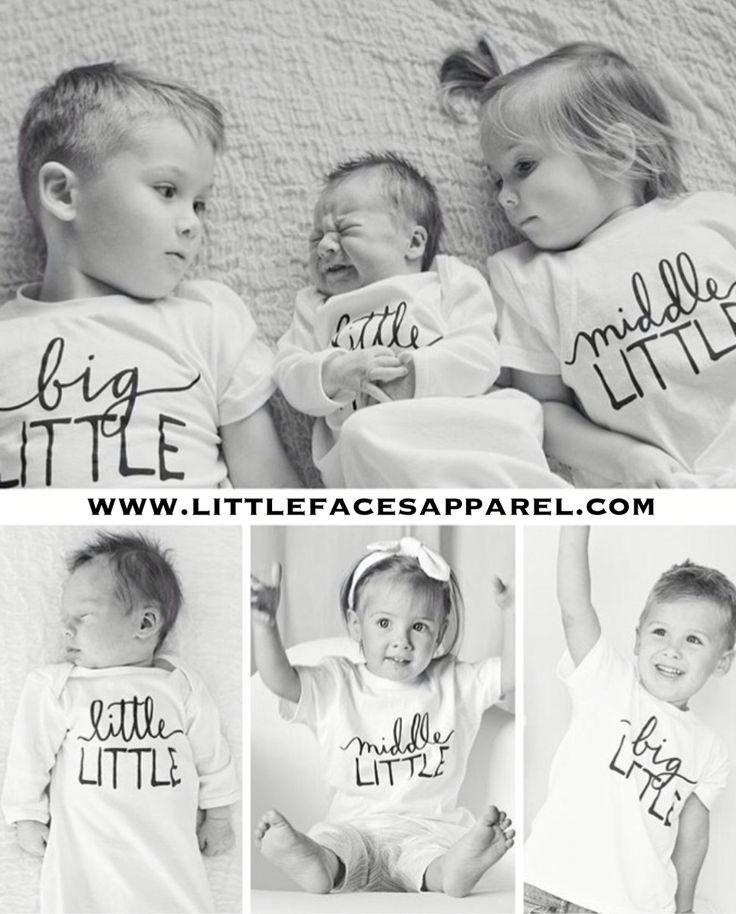 Perfect sibling shirts for fun photo shoots!