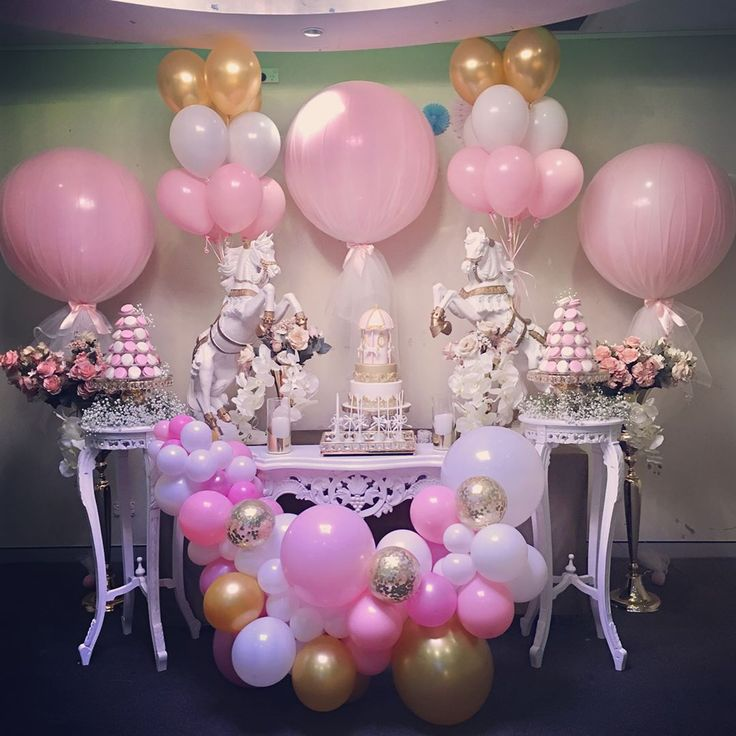 Like glittering dust on fairy wings ✨   Little girl dreams are magical things...✨this magical carousel themed set up is every little girls dream come true #pink #pinks #pinkballoons #pinkandgold #carousel #tulleballoons #decorationideas #instaballoon #instagood #littlegirlstyle #dreamy #sopretty #sydneyevents #horselove #desserttable #caketable #carouselparty #carouselcake