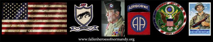 In memoriam... Arthur B. 'Dutch' Schultz. 505th Parachute Infantry Regiment, 82nd Airborne Division, United States Army. Aged 82... Link to obituary at  http://fallenheroesofnormandy.wordpress.com/normandy-veteran-obituaries/american-normandy-veterans-memorial-page/united-states-army/  & via Normandy Veteran Obituaries at www.fallenheroesofnormandy.org