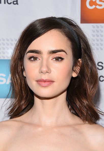 Lily Collins arrives at the 2017 Annual Artios Awards at The Beverly Hilton Hotel on January 19 2017 in Beverly Hills California