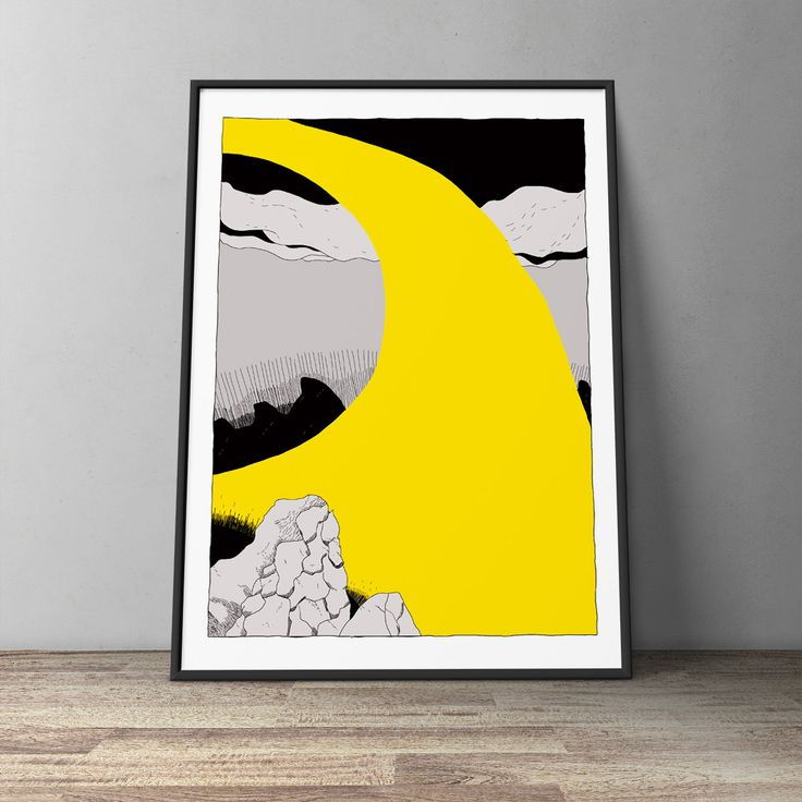 Light - Poster by Pisket | WOLLAWONKA