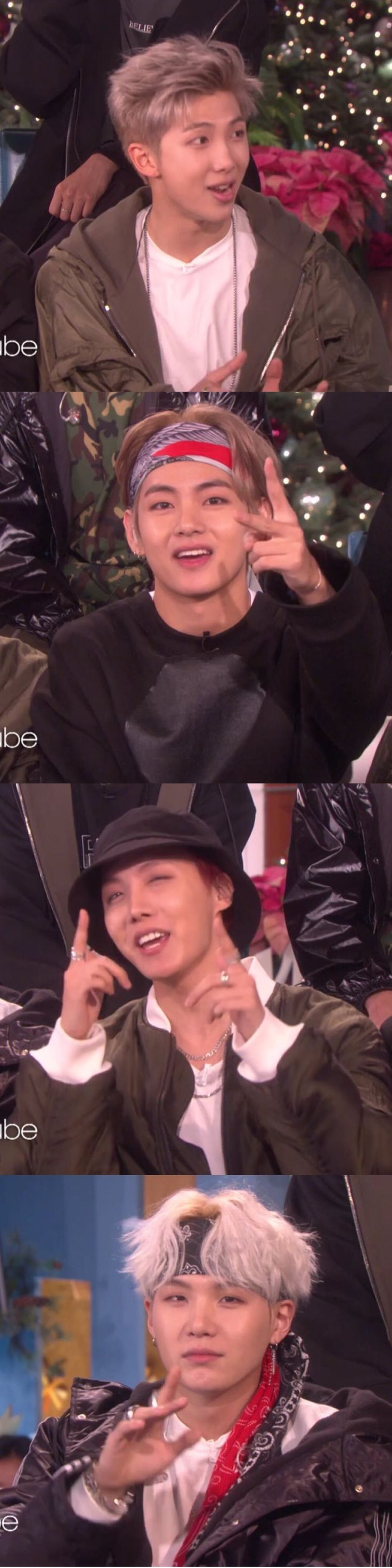 RM, V, J-Hope & Suga ♡♡♡♡