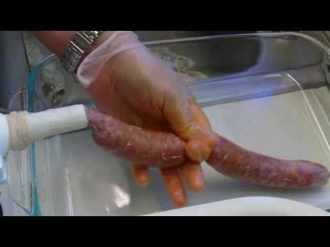 Como hacer chorizos caseros, receta super facil