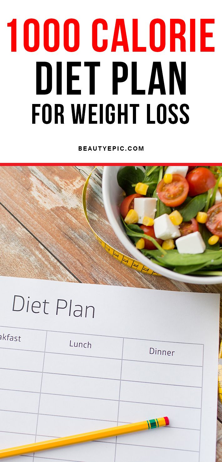 25 Best Ideas About 1000 Calorie Diets On Pinterest
