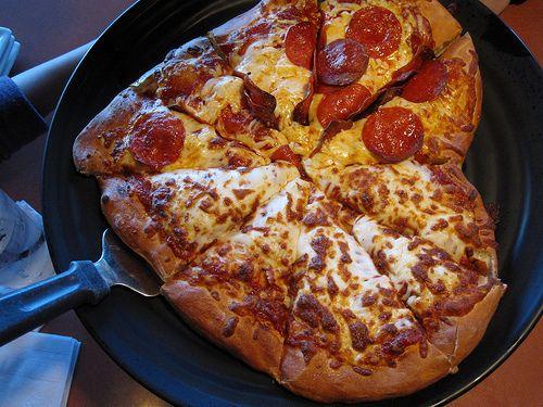 heart pizza!