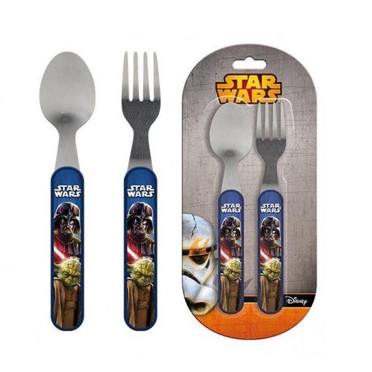 Σετ Φαγητού με τουςStar WarsΤο σετ περιλαμβάνει:Πιρούνι ΚουτάλιΜήκος: 15,5 εκατοστάΥλικό: Ανοξείδωτο ατσάλι και πλαστική λαβή