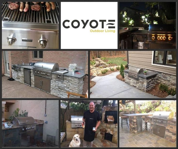 28 best Coyote Outdoor Kitchens images on Pinterest | Outdoor ...
