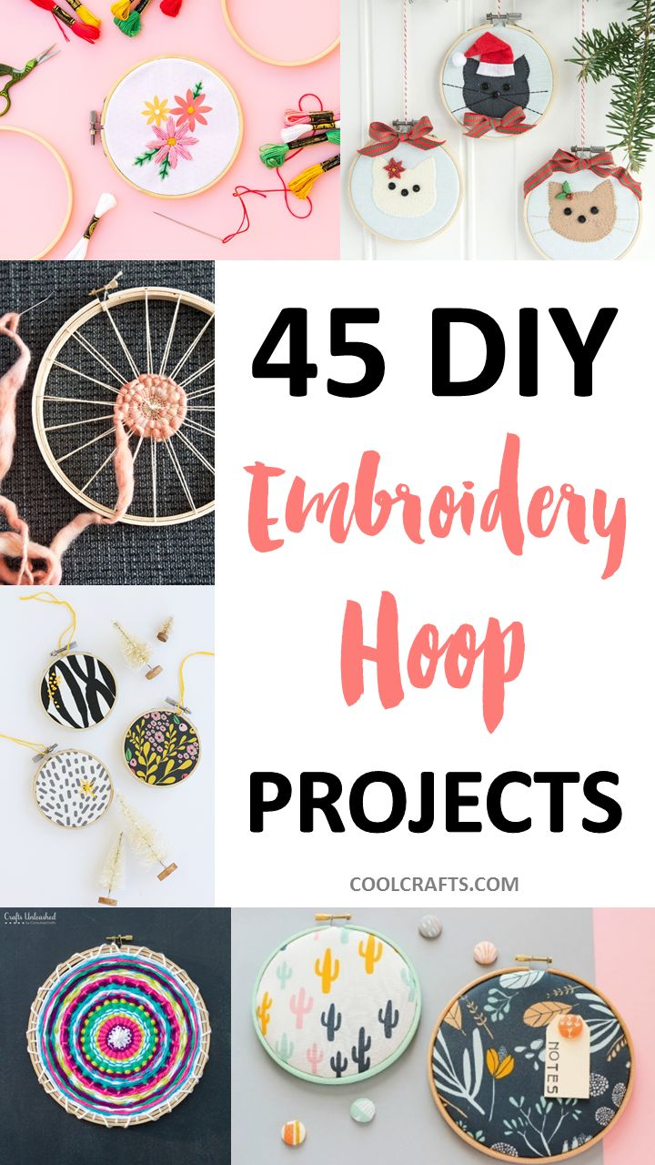 Embroidery hoops might seem like a simple craft material, but did you know just how many craft projects you can use them in? Thankfully, the humble little hoop has a wide array of fun uses, all of which can easily be achieved within a weekend! We've rounded-up 45 amazing DIY projects which you can create...Read More »