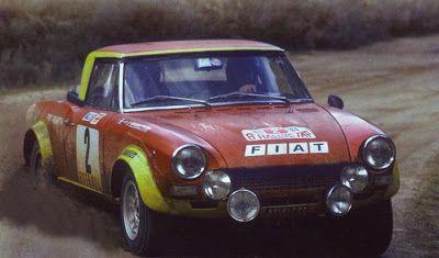 Rally de Portugal 1974,  1º - #2 > Raffaele Pinto - FIAT 124 ABARTH SPIDER
