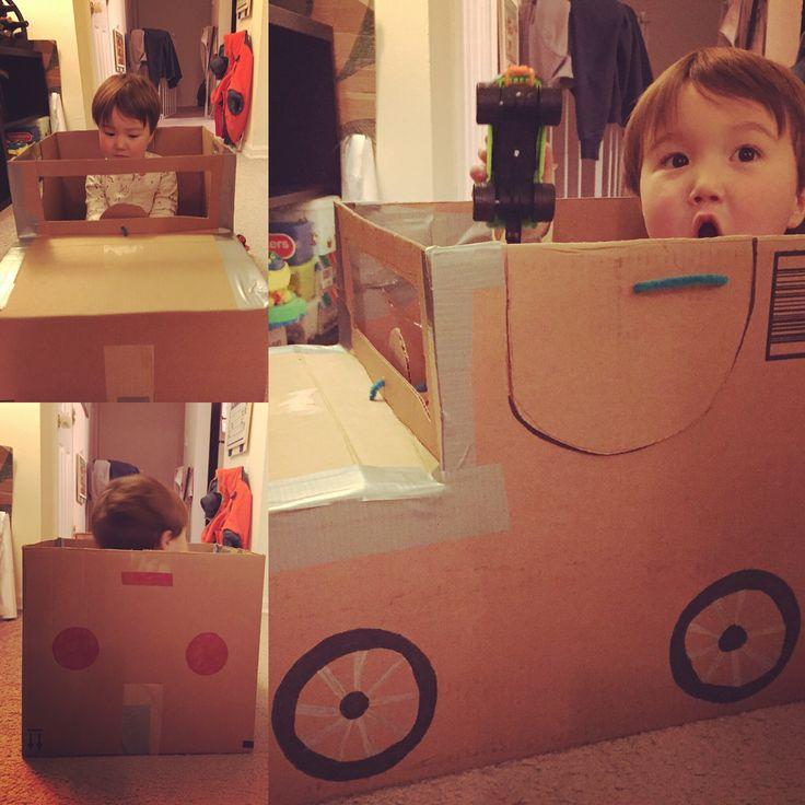 17 Best Ideas About Cardboard Car On Pinterest