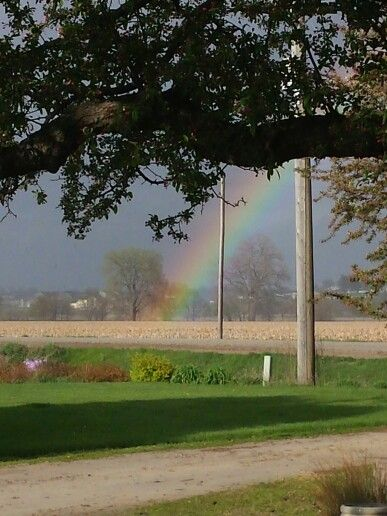 This is where the rainbow ends