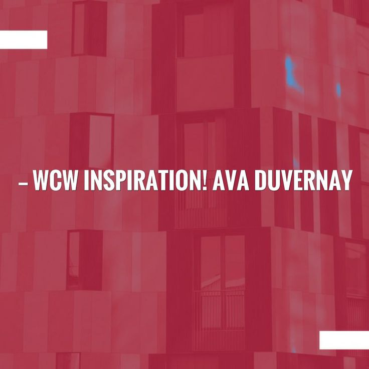 WCW Inspiration! Ava DuVernay & Her Part in What is Being Called a 'Black Film Renaissance' in the Making! http://muzikjunqie.com/ava-duvernay/