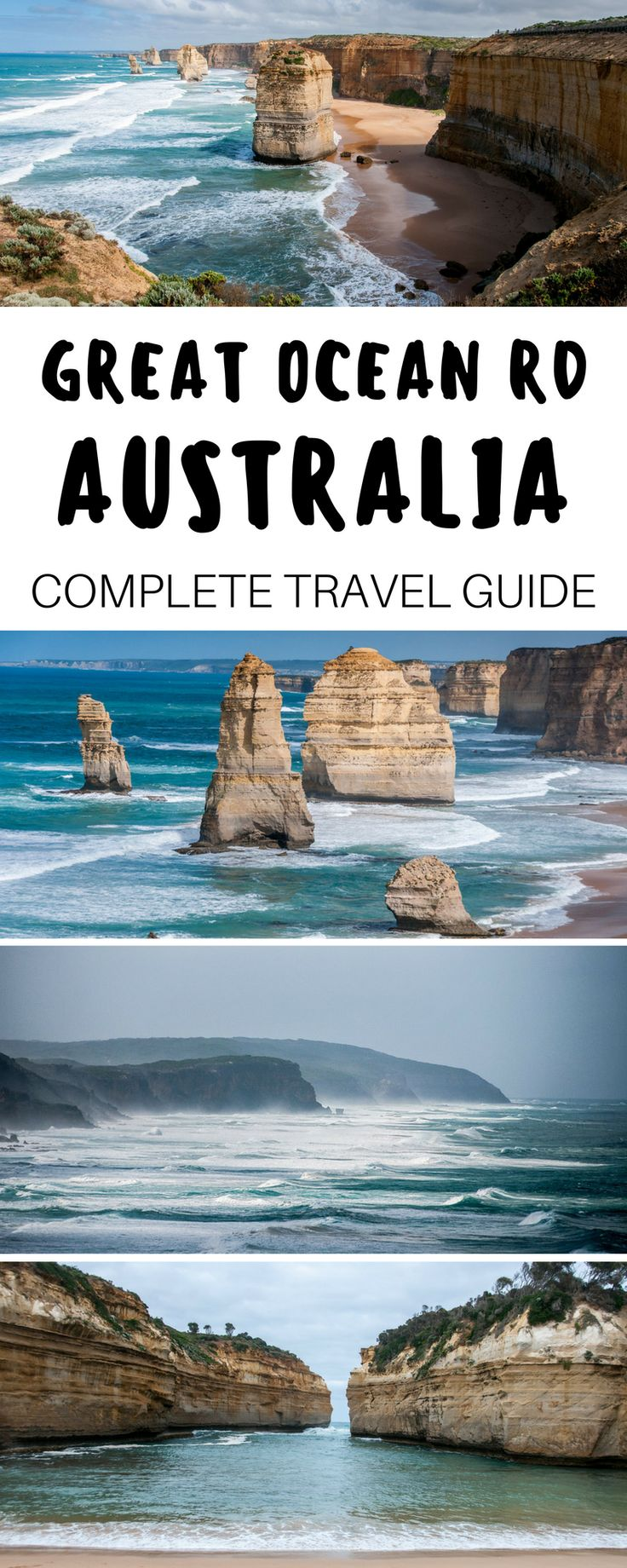 A complete guide to driving the Great Ocean Road in Australia. Highlights and itinerary stops including the Twelve Apostles, London Arch, Loch Ard Gorge and Cape Otway + Practical tips for your trip.   Everything Everywhere Destination Guide #GreatOceanRoad #Australia