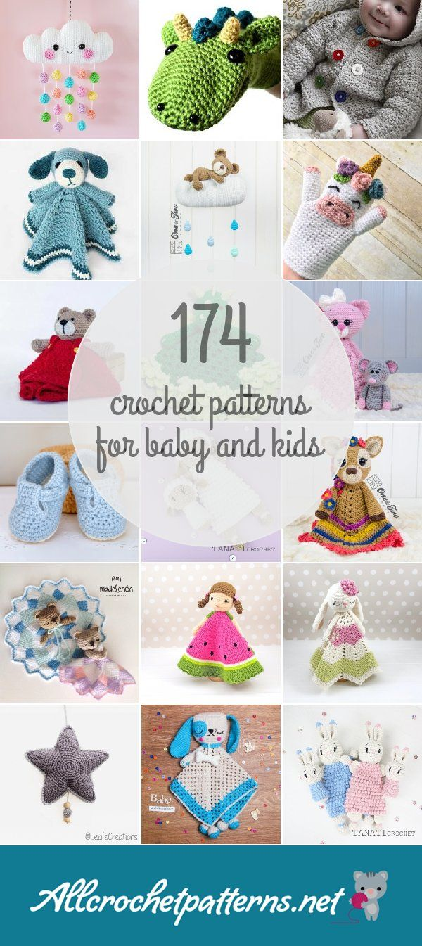 Crochet Patterns For Baby And Kids | crochet | Pinterest | Crochet ...
