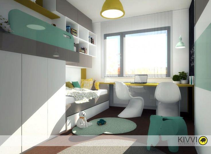 Detská izba, Bratislava 2- Projekty   Kivvi architects