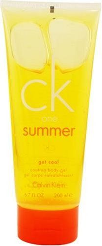 Ck One Summer by Calvin Klein for Men and Women, Cooling Body Gel, 6.8 Ounce by Calvin Klein. Save 21 Off!. $18.90. Packaging for this product may vary from that shown in the image above. Launched by the design house of Calvin Klein.Whenapplyingany fragrance please consider that there are several factors which can affect the natural smell of your skin and, in turn, the way a scent smells on you. For instance, your mood, stress level, age, body chemistry,diet, and current medications…