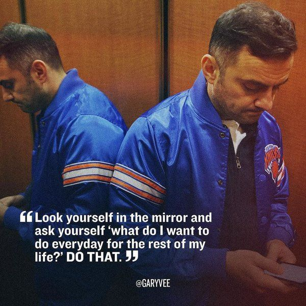Gary Vaynerchuk is my inspiration