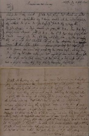 Letter from Leopold Mozart Informing J.J. Lotter of the Birth of His Son, Amadeus Mozart