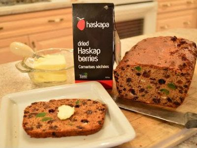 This #recipe for #Haskap #Barmbrack #Bread was a winner for #StPatricksDay in our household - featured on ifood TV!  Recipe: http://ifood.tv/bread/1006887-how-to-bake-haskap-barmbrack-bread  This show is brought to you by Haskapa: http://Haskapa.com @Haskapa  * Subscribe to Cooking With Kimberly: http://cookingwithkimberly.com @CookingWithKimE #cwk