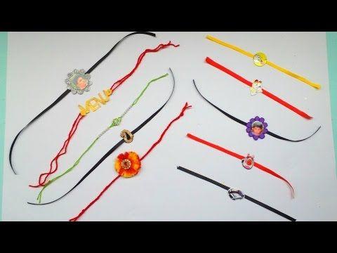 10 BEST Handmade Rakhi designs for Adults and Kids  DIY Rakhi  GENERATION_DIY - YouTube