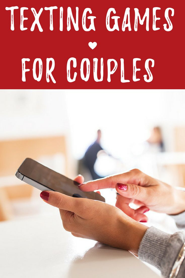 Spice up your marriage and add a little fun to your relationship by playing these texting games for couples.