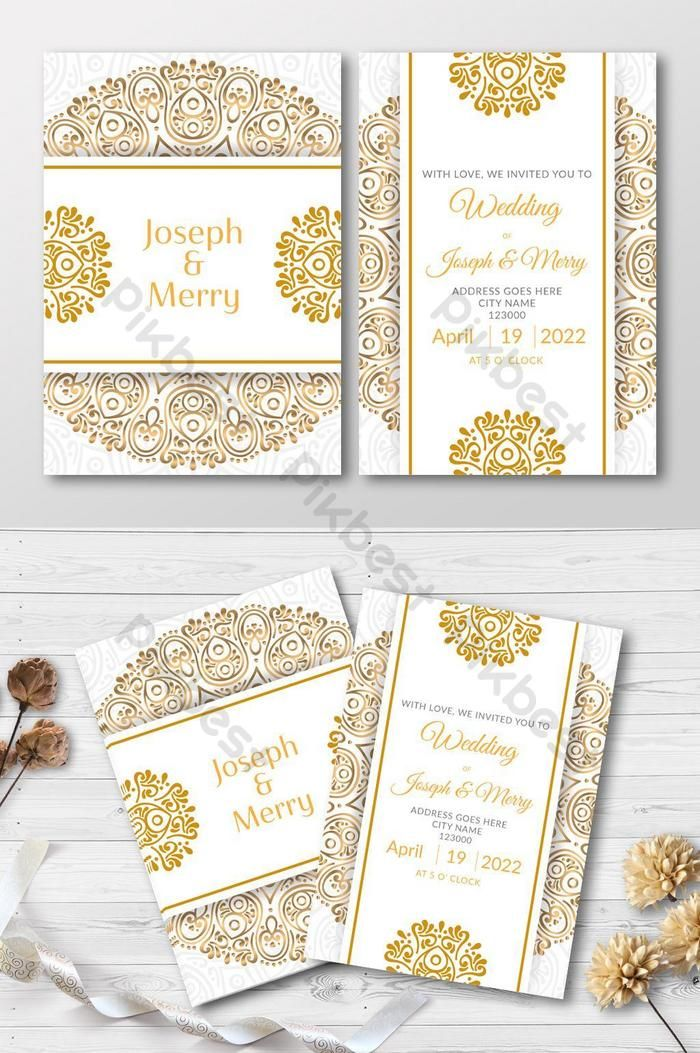 Wedding Invitation Card Luxury Style Pikbest Templates Business Card Invitation G Wedding Invitation Cards Wedding Invitations Wedding Invitation Card Template