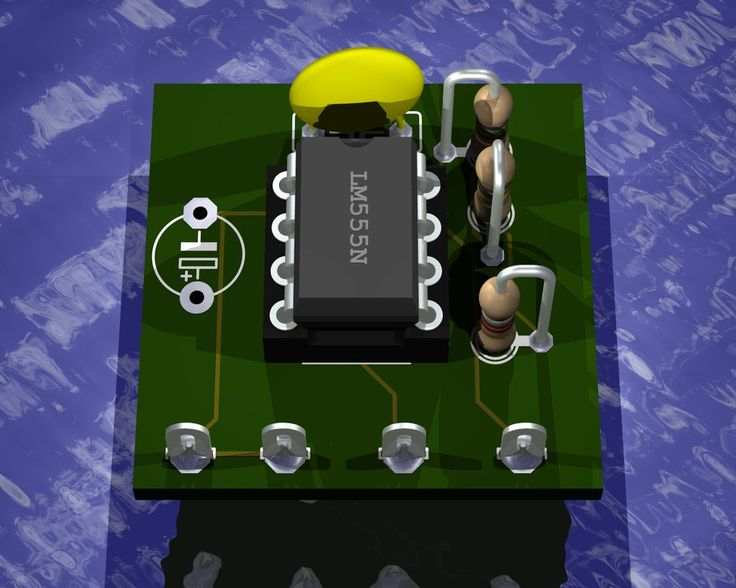 Render 3D images of your PCBs using Eagle3D and POV-Ray