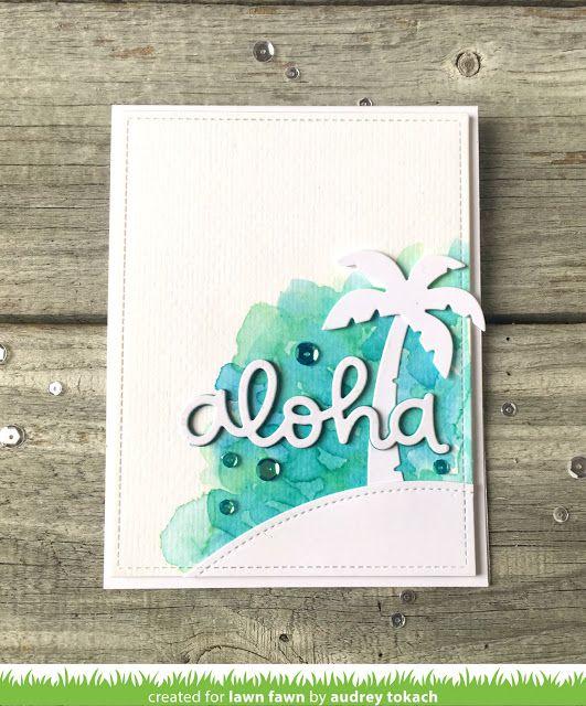 the Lawn Fawn blog: Lawn Fawn Intro: Aloha + Scripty Aloha