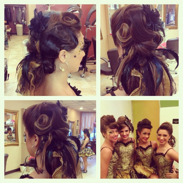Burlesque Hair competition