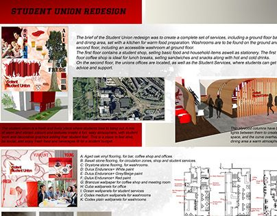 "Check out new work on my @Behance portfolio: ""Student Union Redesign"" http://on.be.net/1BfDhQY"