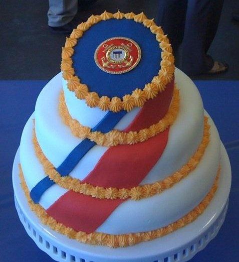 Coast Guard Sector cake