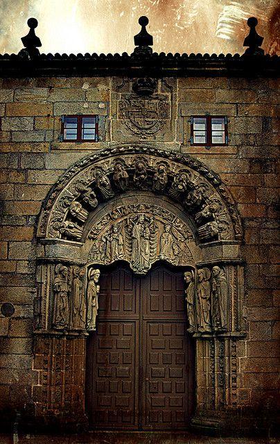 Santiago de Compostela University, Galicia - Spain  by renquedochan on Flirck